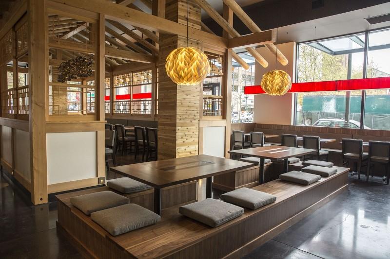 Girin Korean Ssam Bar Seattle, Washington